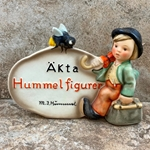 Hummel 209 Swedish Language Dealer Plaque