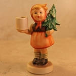 Hummel 116 Girl With Fir Tree Advent Candlestick