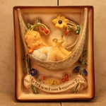 Hummel 165 Swaying Lullaby, Wall Plaque