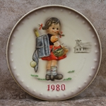 Hummel 273 1980 Annual Plate, School Girl