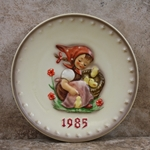 Hummel 278 1985 Annual Plate, Chick Girl