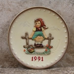 Hummel 287 1991 Annual Plate, Just Resting