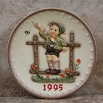 Hummel 291 1995 Annual Plate, Come Back Soon