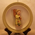 Hummel 693 Festival Harmony with Flute 1995, Annual Christmas Plate