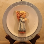 Hummel 694 Thanksgiving Prayer 1997, Annual Christmas Plate