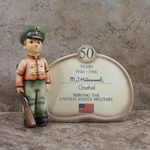 Hummel 726 Soldier Boy Plaque, Type 1