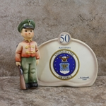 Hummel 726 Soldier Boy Plaque, Type 2