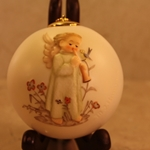 Hummel 3019 Festival Harmony with Flute Ceramic Ball Ornament