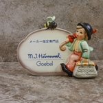 Hummel 900 Merry Wanderer Plaque, Japanese Language