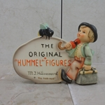"Hummel 187 Type 2-2 With Quotation Marks, +""Reg. trade mark"" in Brown"