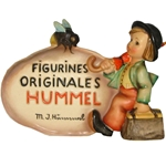 Hummel 208 Dealer's Plaque In French