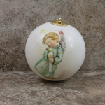 Hummel 3021 Heavenly Angel Ceramic Ball Ornament