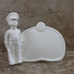 Hummel 726 Soldier Boy Plaque, White, Type 1