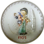 Hummel 268 Little Fiddlers 1975 Annual Plate, Never Issued!