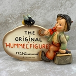 "Hummel 187 Type 3 With Quotation Marks, +""Reg. trade mark"" in Brown"