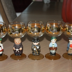 Goebel Wine Glasses / Goblets