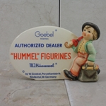 M.I. Hummel 187-A M.I. Hummel Plaque, In English 1976, Tmk 6, Authorized Dealer, Type 1