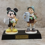 M.I. Hummel Figurines  87 For Father Disney Figurine Tmk 7, Type 1
