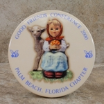 M.I. Hummel Aufsteller Plaque Good Friends Tmk 6, Type 1