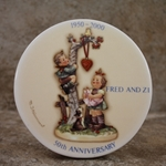 M.I. Hummel Aufsteller Plaque Personalized Tmk 6, Type 1