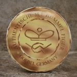 M.I. Hummel Aufsteller Plaque Authentische M.I. Hummel Figur  Tmk 6, Type 1