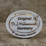 M.I. Hummel Aufsteller Plaque M.I. Hummel Club Tmk 6, Type 1