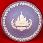 Wedgwood Christmas Plate 1972  St. Paul's Cathedral