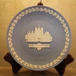 Wedgwood Christmas Plate 1980 St. James' Palace