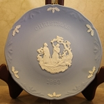 Wedgwood Christmas Plate 1993 While Shepherds Watch