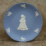 Wedgwood Christmas Plate 2002 Love