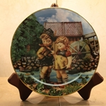 Danbury Mint, M I Hummel Plate ~ Hello Down There
