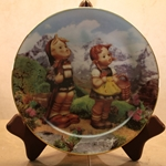 Danbury Mint, M I Hummel Plate ~ Little Explorers