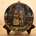 Danbury Mint, M I Hummel Plate ~ Little Musicians
