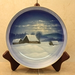 Rosenthal Weihnachten Christmas Plate, 1910 Newer Version