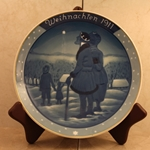 Rosenthal Weihnachten Christmas Plate, 1911 Newer Version