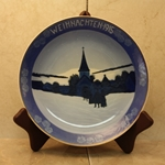 Rosenthal Weihnachten Christmas Plate, 1915 Type 1 Newer Version