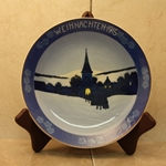 Rosenthal Weihnachten Christmas Plate, 1915 Type 2 Newer Version