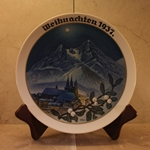 Rosenthal Weihnachten Christmas Plate, 1937 Newer Version
