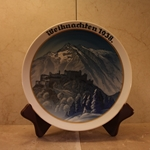 Rosenthal Weihnachten Christmas Plate, 1938 Newer Version