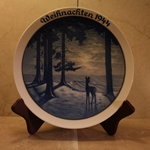 Rosenthal Weihnachten Christmas Plate, 1944 Newer Version