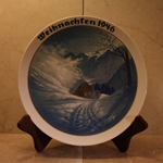 Rosenthal Weihnachten Christmas Plate, 1946 Newer Version