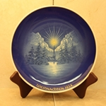 Rosenthal Weihnachten Christmas Plate, 1954 Type 3 Newer Version
