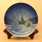 Rosenthal Weihnachten Christmas Plate, 1959 Type 4 Newer Version