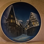 Rosenthal Weihnachten Christmas Plate, 1960 Error Dated 1961