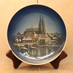Rosenthal Weihnachten Christmas Plate, 1967 English inscription (CHRISTMAS)