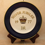 Rosenthal Commemorative Plate 1977 Silver Jubilee