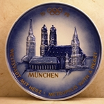 Olympic Plate 1972 München