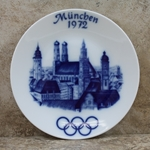 Olympic Plate 1972 München, Hutschenreuther