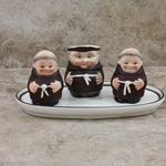 Goebel Figurine, Friar Tuck S141 2/0 Tmk 2, Condiment Set, Type 1