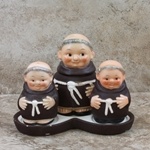 Goebel Figurine, Friar Tuck M 42 D Tmk 2, Condiment Set, Type 1